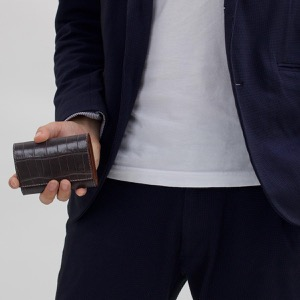 フェリージ カードケース メンズ レディース グリージョスクーログレー 450 SA 0028 FELISI