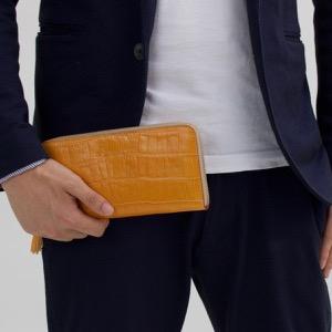 フェリージ 長財布 財布 メンズ レディース マンゴオレンジ 913 SA 0015 FELISI