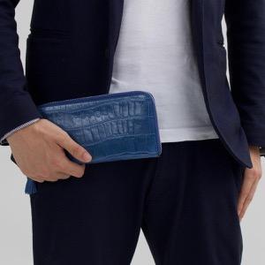フェリージ 長財布 財布 メンズ レディース ブリュエットブルー 913 SA 0021 FELISI