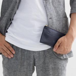フェリージ 長財布【札入れ】/コインケース【小銭入れ】 財布 メンズ ネイビーブルー 977 SI 0005 FELISI