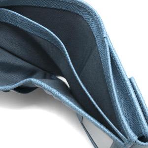 フェラガモ 二つ折り財布 財布 レディース ガンチーニ シャンブレーブルー 22C877 CHAMBRAY 0747852 SALVATORE FERRAGAMO