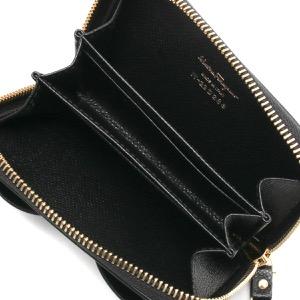フェラガモ コインケース(小銭入れ) 財布 レディース ヴァラ リボン ブラック 22D288 NERO 0725290 SALVATORE FERRAGAMO