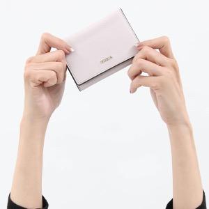 フルラ 三つ折り財布/ミニ財布 財布 レディース バビロン スモール リノピンクホワイト PBP2 B30 454 1023469 FURLA