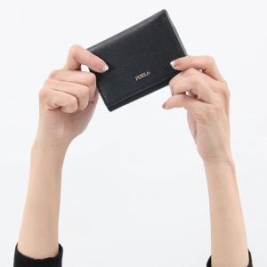 フルラ 三つ折り財布/ミニ財布 財布 レディース バビロン スモール ブラック PBP2 B30 O60 1023478 FURLA