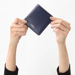 フルラ 二つ折り財布/ミニ財布 財布 レディース バビロン スモール ブルーノッテ PR74 B30 B0L 1034319 FURLA