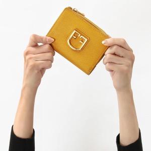 フルラ 二つ折り財布 財布 レディース ベルヴェデーレ スモール ジュネストライエロー PBO5 Q26 649 1038809 FURLA