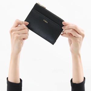 フルラ コインケース【小銭入れ】/クレジットカードケース 財布 レディース バビロン ミディアム ブラック PCL8 B30 O60 1045941 2020年春夏新作 FURLA