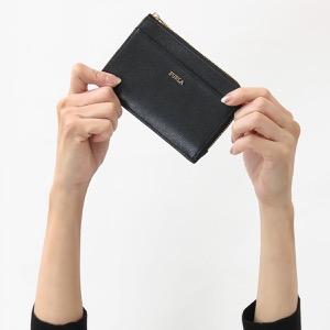 フルラ コインケース【小銭入れ】/クレジットカードケース 財布 レディース バビロン ミディアム ブラック PR75 B30 O60 907847 FURLA