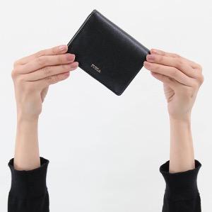 フルラ 二つ折り財布/ミニ財布/カードケース 財布 レディース バビロン スモール ブラック PZ28 B30 O60 962175 FURLA