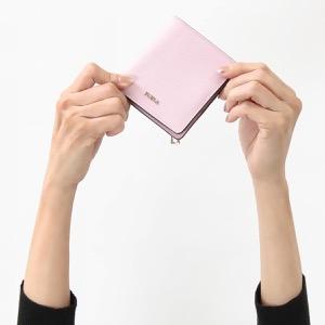 フルラ 二つ折り財布/ミニ財布 財布 レディース バビロン スモール カメリアピンク PR74 B30 LC4 962929 FURLA