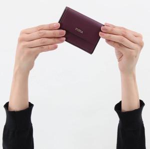 フルラ 三つ折り財布/ミニ財布 財布 レディース バビロン スモール アラマントパープル PZ12 E35 T75 993903 FURLA
