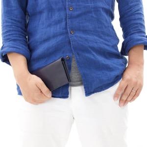 グレンロイヤル 長財布 財布 メンズ ダークブルー 035605 DARKBLUE GLENROYAL