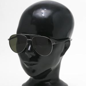 グッチ サングラス メンズ アビエーター アレッサンドロ・ミケーレデザイン ティアドロップ ルテニウムガンメタル&ブラック&グリーン GG0014S 003 INT GUCCI