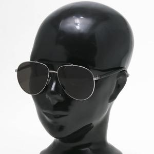 グッチ サングラス メンズ アビエーター アレッサンドロ・ミケーレデザイン ティアドロップ ルテニウムガンメタル&ブラック&グレー GG0014S 005 INT GUCCI