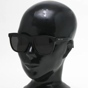 グッチ サングラス メンズ スクエア ウェリントン ブラック&グレー GG0266SA 001 ASI GUCCI