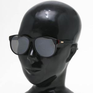 グッチ サングラス メンズ レディース ウェリントン ブラック&ブラックシルバー GG0271SA 001 ASI GUCCI