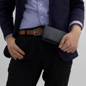 ハンティングワールド 長財布 財布 メンズ バチュー オリジン BATTUE ORIGIN ブラック 420 13A HUNTING WORLD