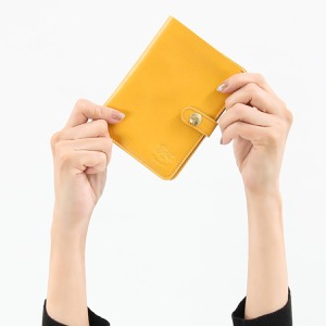 イルビゾンテ 二つ折り財布 財布 レディース スタンダード スプーマイエロー C0343 EP 978 IL BISONTE
