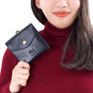 イルビゾンテ 三つ折り財布 財布 メンズ レディース スタンダード STANDARD ブラック C0423 P 153 IL BISONTE
