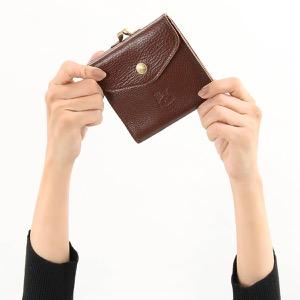 イルビゾンテ 三つ折り財布 財布 メンズ レディース スタンダード マローネブラウン C0423 P 869 IL BISONTE