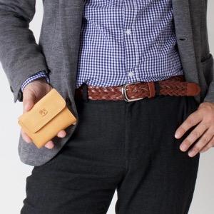 イルビゾンテ キーケース/三つ折り財布 メンズ レディース スタンダード ナチュラル C0445 MP 120 IL BISONTE