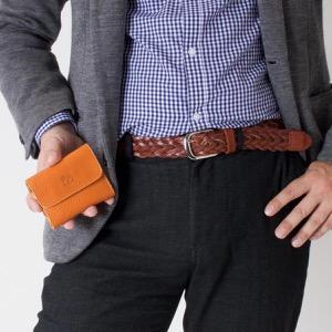 イルビゾンテ キーケース/三つ折り財布 メンズ レディース スタンダード キャラメルブラウン C0445 MP 145 IL BISONTE
