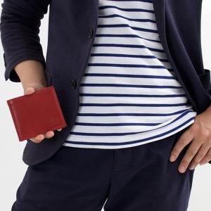 イルビゾンテ 二つ折り財布 財布 メンズ レディース スタンダード ロッソレッド C0487 MP 245 IL BISONTE