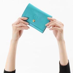 イルビゾンテ 二つ折り財布 財布 メンズ レディース スタンダード トゥルケーゼブルー C0522 EP 954 IL BISONTE