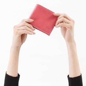 イルビゾンテ 二つ折り財布 財布 メンズ レディース スタンダード ゼラニウムピンク C0817 EP 953 IL BISONTE
