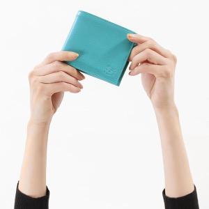 イルビゾンテ 二つ折り財布 財布 メンズ レディース スタンダード トゥルケーゼブルー C0817 EP 954 IL BISONTE