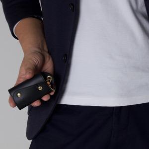 イルビゾンテ キーケース/キーリング メンズ レディース スタンダード STANDARD ブラック C0847 P 135 IL BISONTE