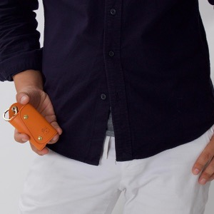 イルビゾンテ キーケース/キーリング メンズ レディース スタンダード STANDARD オレンジ C0847 P 166 IL BISONTE