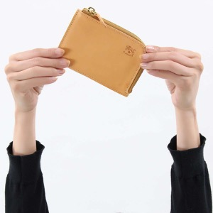 イルビゾンテ コインケース【小銭入れ】 財布 メンズ レディース スタンダード ナチュラルベージュ C0852 P 120 IL BISONTE