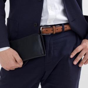 イルビゾンテ 長財布 財布 メンズ レディース スタンダード STANDARD ブラック C0909 P 153 IL BISONTE