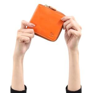 イルビゾンテ 二つ折り財布 財布 メンズ レディース スタンダード オレンジ C0990 P 166 IL BISONTE