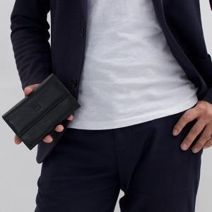 イルビゾンテ 二つ折り財布/ミニ財布 財布 メンズ レディース スタンダード ブラック C0992 P 153 IL BISONTE