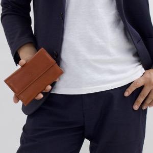 イルビゾンテ 二つ折り財布/ミニ財布 財布 メンズ レディース スタンダード コニャックブラウン C0992 P 214 IL BISONTE