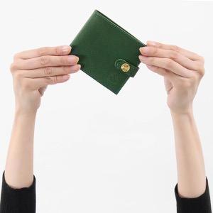 イルビゾンテ 二つ折り財布 財布 メンズ レディース スタンダード グリーン C1007 P 293 IL BISONTE