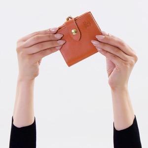 イルビゾンテ 二つ折り財布/ミニ財布 財布 メンズ レディース スタンダード ?キャラメルブラウン C1033 P 145 IL BISONTE