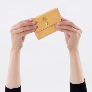 イルビゾンテ コインケース【小銭入れ】/二つ折り財布 財布 レディース リバティ 星柄 ナチュラル C1064 LL 903 IL BISONTE