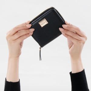 ジミーチュウ 二つ折り財布 財布 レディース ミロセ ブラック MIROSE GFH 183 BLACK 2019年春夏新作 JIMMY CHOO