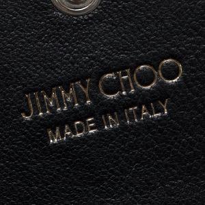 ジミーチュウ カードケース レディース ネロ マルチ メタル スター スタッズ ブラック&メタリックミックス NELLO LTR 000715 BLACK METALLIC MIX JIMMY CHOO