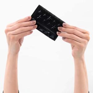 ジミーチュウ キーケース メンズ レディース ネプチューン エナメル スター スタッズ ブラック NEPTUNE ENL 000074 BLACK BLACK JIMMY CHOO