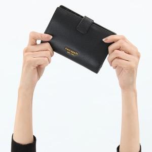 ケイトスペード 二つ折り財布 財布 レディース シルヴィア ミディアム ブラック PWRU7230 001 2019年秋冬新作 KATE SPADE