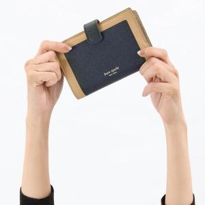 ケイトスペード 二つ折り財布 財布 レディース マルゴー ミディアム ライトフォーンブラウンマルチ PWRU7419 721 2019年秋冬新作 KATE SPADE