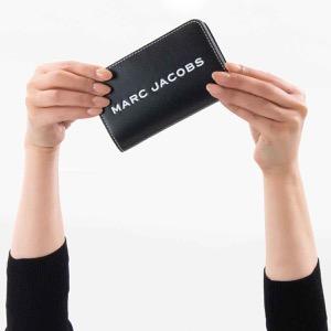 マークジェイコブス 二つ折り財布 財布 メンズ レディース ザ タグ ブラック M0014584 001 MARC JACOBS