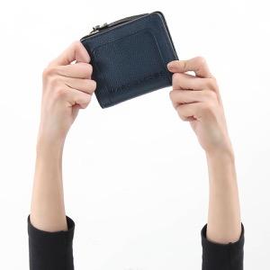 マークジェイコブス 二つ折り財布 財布 レディース ザ テクスチャード ボックス ブルーシア M0015107 426 MARC JACOBS