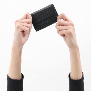 マークジェイコブス 三つ折り財布/ミニ財布 財布 レディース ザ テクスチャード ボックス ブラック M0015111 001 2020年春夏新作 MARC JACOBS