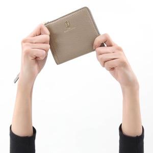 マークジェイコブス 二つ折り財布 財布 レディース ザ ソフトショット ミニ セメントグレー M0015122 055 2020年春夏新作 MARC JACOBS