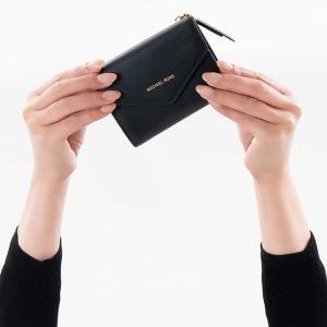 マイケルコース 三つ折り財布 財布 レディース ブレイクリー スモール ブラック 32S8GZLD5L 001 MICHAEL KORS